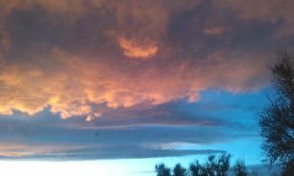 Colorado sunset on November 18 2014